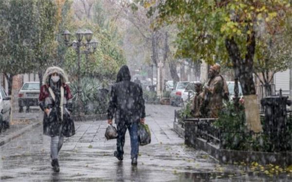 بارش برف و باران از امشب در استان تهران