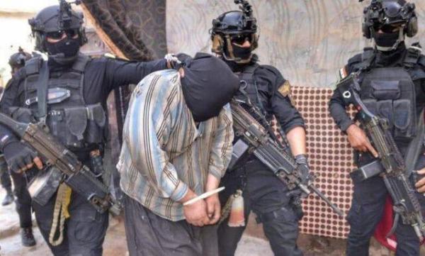 دستگیری مسئول یگان بمب گذاری داعش در بغداد توسط نیروهای امنیتی عراق