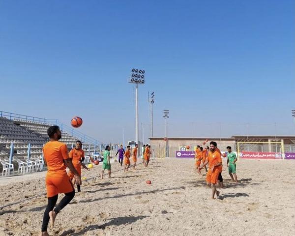 سومین اردوی تیم ملی فوتبال ساحلی برگزار می گردد