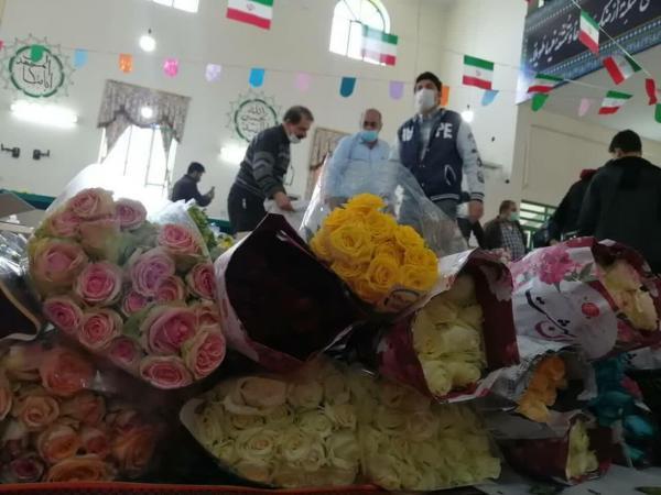 خبرنگاران مردم پاکدشت 280 هزار شاخه گل به عتبات عالیات اهدا کردند