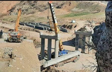 بهره برداری از پل کاکارضا در خردادماه 1400