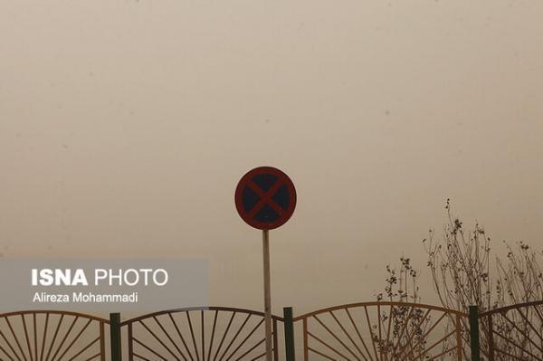 پیش بینی خاک و افت دما برای خوزستان