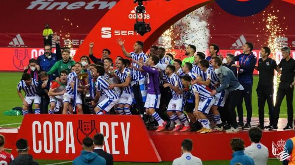 با پبروزی مقابل اتلتیک بیلبائو؛ اولین قهرمانی رئال سوسیداد پس از 34 سال