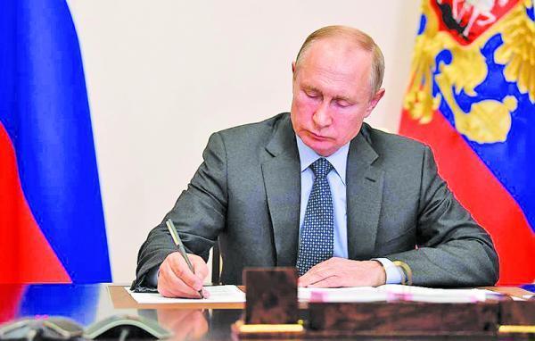 امضای قانون پوتین تا 2036