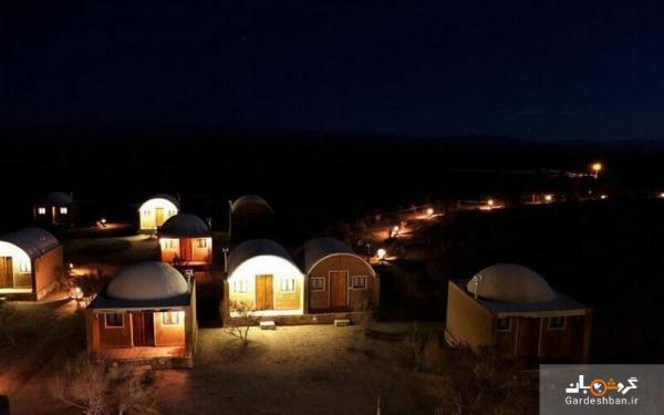 اکو کمپ متین آباد نطنز؛ اقامتی به یادماندنی در دل کویر