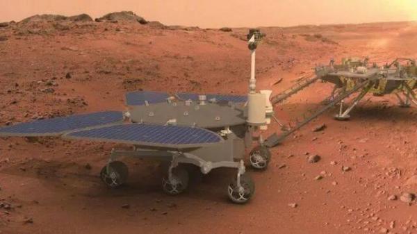 نخستین مریخ نورد چین به نام خدای آتش نام گذاری شد