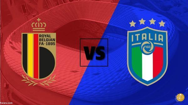 ساعت بازی بلژیک - ایتالیا در یورو 2020