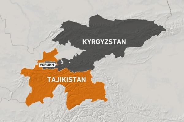 درگیری های پراکنده بین تاجیکستان و قرقیزستان