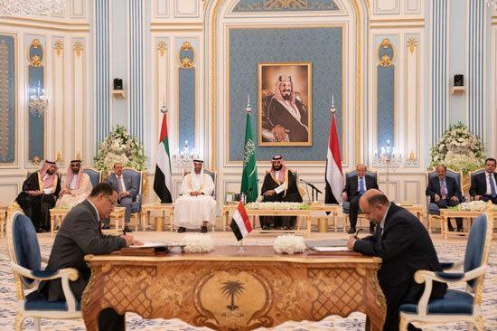 درخواست عربستان از دولت مستعفی و شورای انتقالی جنوب یمن برای اجرای توافقنامه ریاض