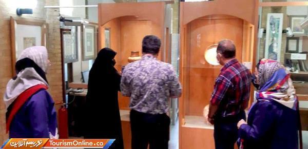 نمایشگاه 50 سال هنر فلز کاری افتتاح شد