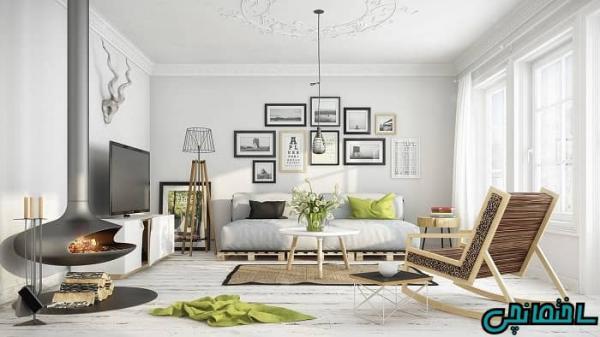 دکوراسیون داخلی خانه به سبک سوئدی