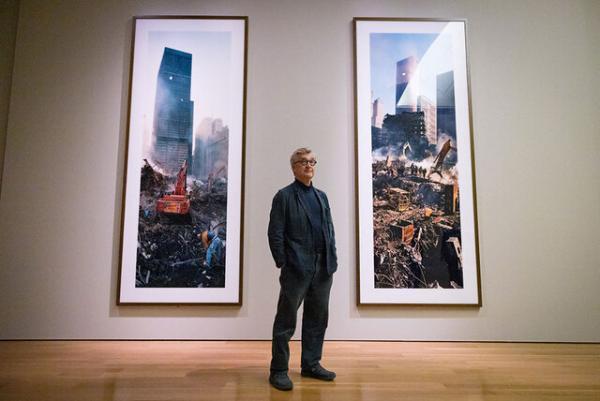 نمایشگاه عکس ویم وندرس برای 11 سپتامبر