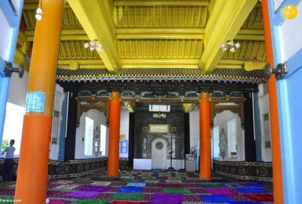 مسجد ساخته شده از چوب بدون استفاده از میخ!